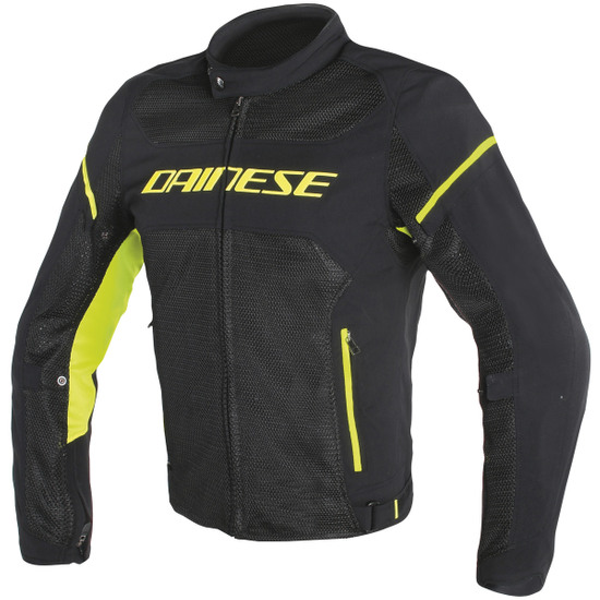 DAINESE Air Frame D1 Tex Black / Yellow Fluo Jacket