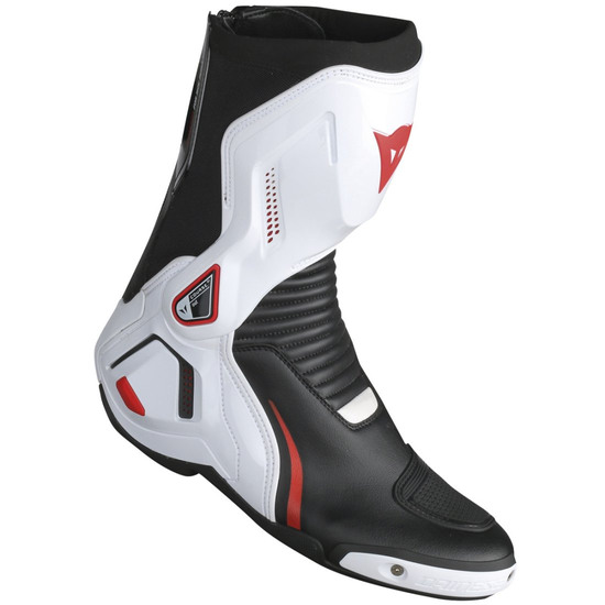 DAINESE Course Out D1 Black / White / Red Lava Boots