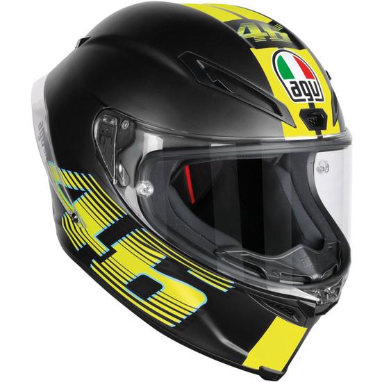 Casco AGV Corsa R Rossi V46 Matt Black