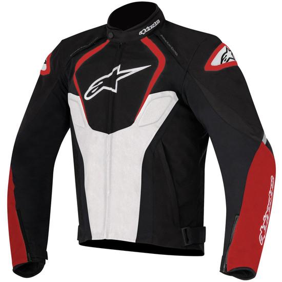 Chaqueta ALPINESTARS T-Jaws Waterproof Black / White / Red