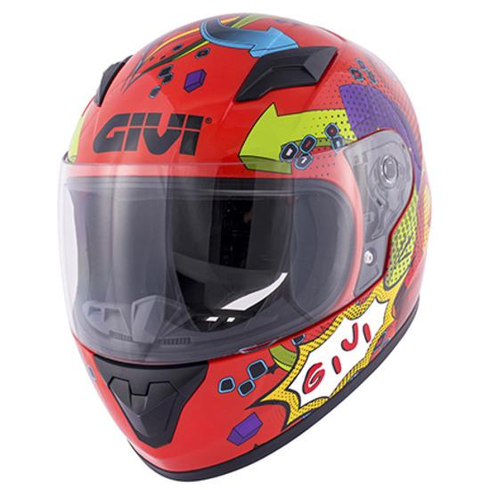Helm GIVI Junior 4 Red