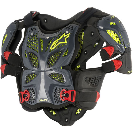 Protezione ALPINESTARS A-10 Full Chest Anthracite / Black / Red