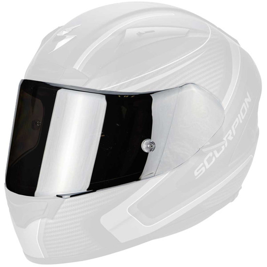 Accesorio casco SCORPION KDF 14-3 Silver Mirrored