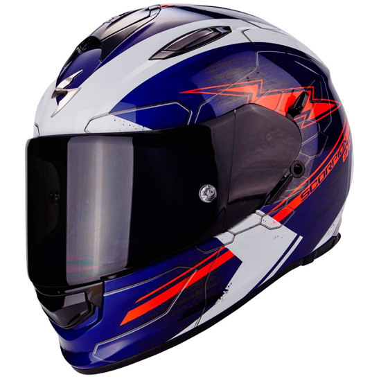 Casco SCORPION Exo-510 Air Cross Blue / White / Red