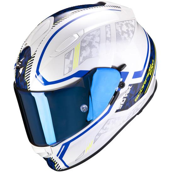 Helm SCORPION Exo-510 Air Occulta Pearl White / Blue