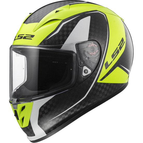 Casco LS2 FF323 Arrow C Evo Fury Carbon / H-V Yellow