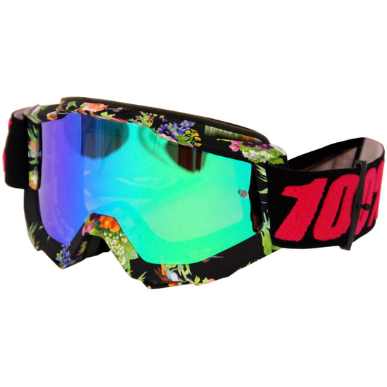 100% Accuri Chapter 11 Mirror Green Mask / Goggle