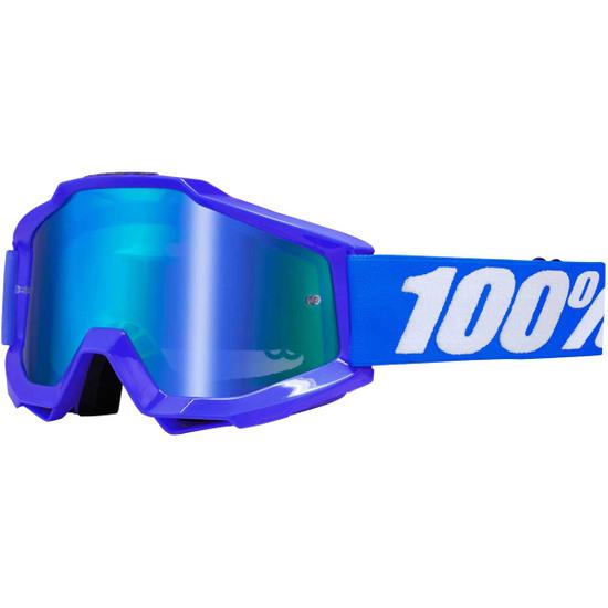 Brille 100% Accuri Reflex Blue Mirror Blue
