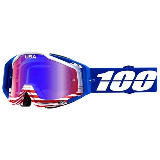 Occhiali 100% Racecraft Anthem Mirror Red / Blue