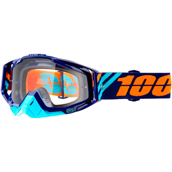 100% Racecraft Calculus Navy Mask / Goggle