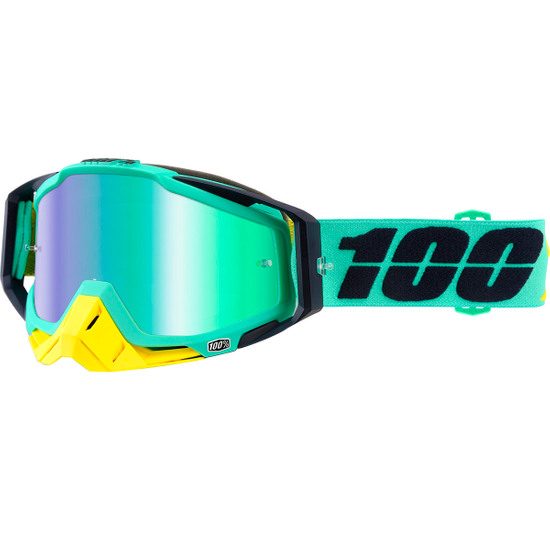 Máscara / Gafas 100% Racecraft Kloog Mirror Green