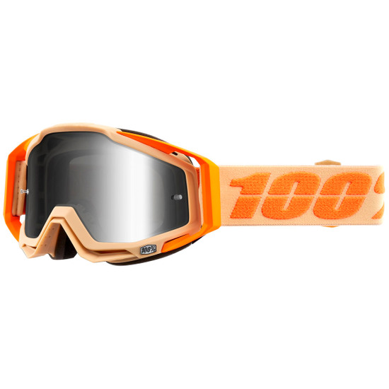 100% Racecraft Sahara Mirror Silver Mask / Goggle
