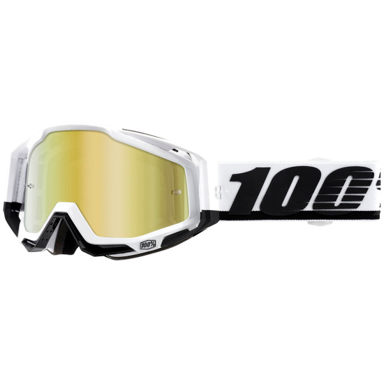 100% Racecraft Stuu Mirror Gold Mask / Goggle