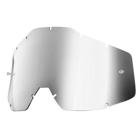 Ricambio 100% Anti Fog Mirror Silver