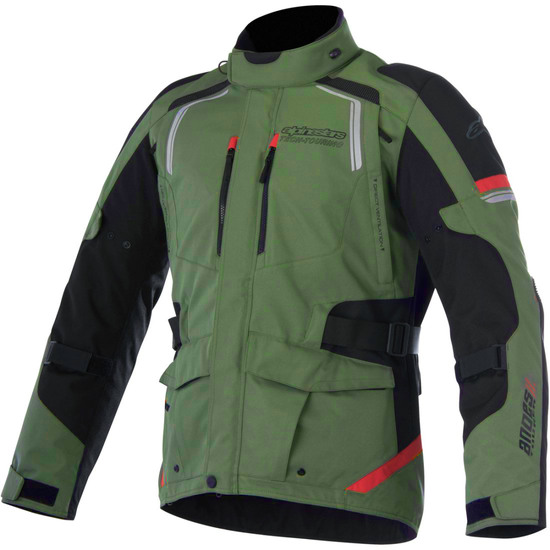 Blouson ALPINESTARS Andes V2 Drystar Military Green / Black / Red