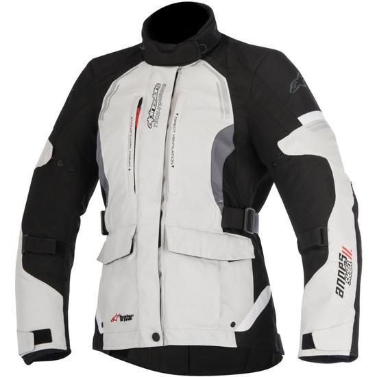 ALPINESTARS Stella Andes V2 Drystar Lady Light Gray / Black / Dark Gray Jacket