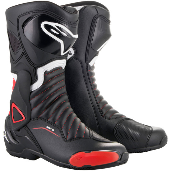 ALPINESTARS SMX-6 V2 Black / Red Boots