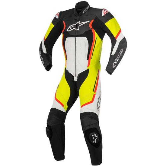 Anzug / Kombi ALPINESTARS Motegi V2 Professional Black / White / Yellow Fluo / Red Fluo