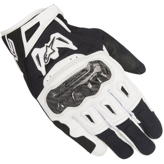 Handschuh ALPINESTARS SMX-2 Air Carbon V2 Black / White