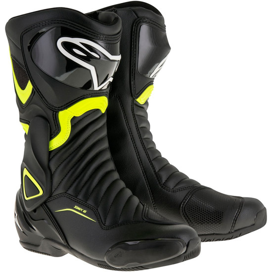 Stivale ALPINESTARS SMX-6 V2 Black / Yellow Fluo