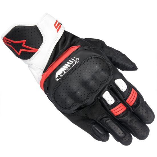 Luvas ALPINESTARS SP-5 Black / White / Red