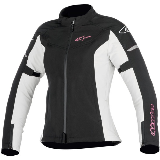 Casaco ALPINESTARS Stella Stratos Techshell Drystar Lady Black / Light Gray / Fuchsia