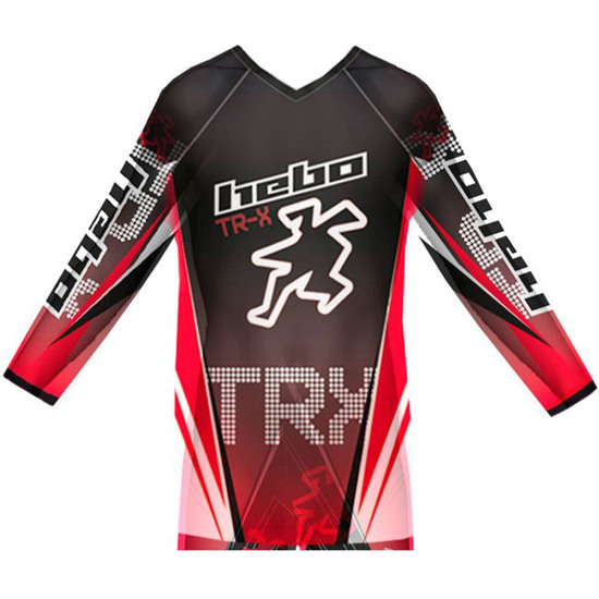 HEBO Pro TR-X Junior Red Jersey