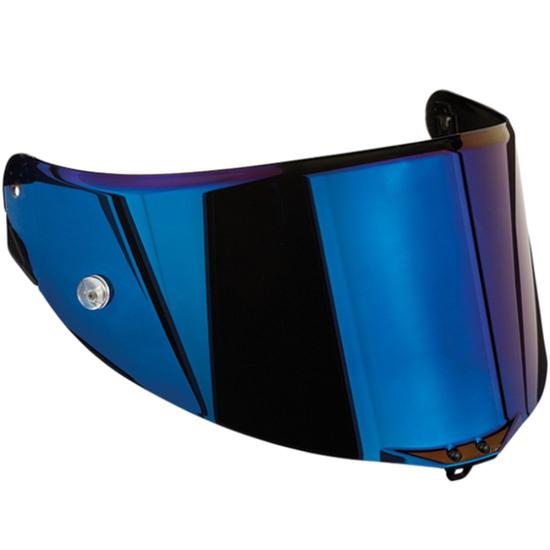 Helm Zubehör AGV Race 3 Pinlock Iridium Blue