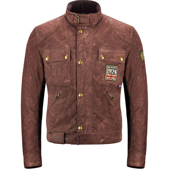 Giacca BELSTAFF Jubilee Brooklands Cotton Limited Edition Russet