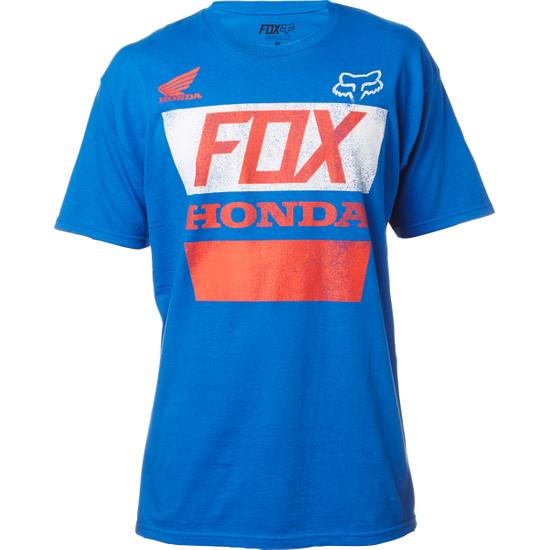 Camiseta FOX Honda Distreed Basic Blue