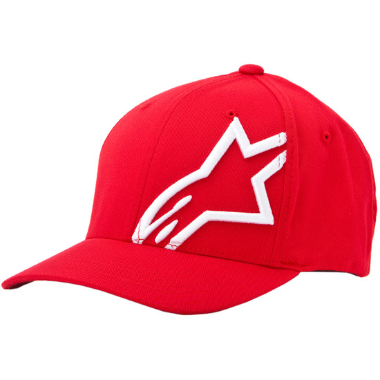 Gorra ALPINESTARS Corp Shift 2 Flexfit Red / White