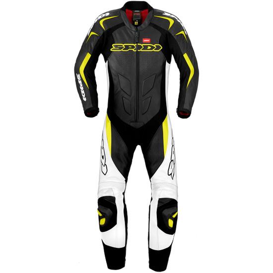 Traje / Mono SPIDI Supersport Wind Pro Professional Black / Yellow Fluo