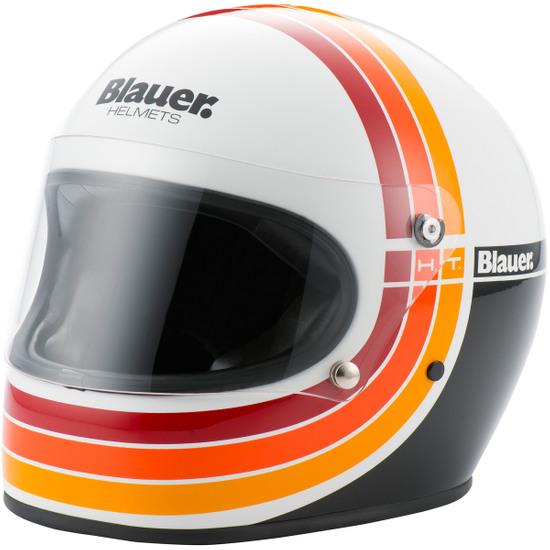 BLAUER 80's White Helmet