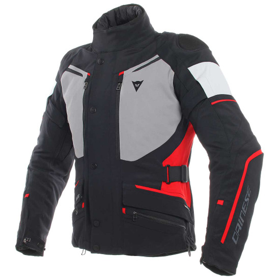 Blouson DAINESE Carve Master 2 Gore-Tex Black / Frost-Grey / Red