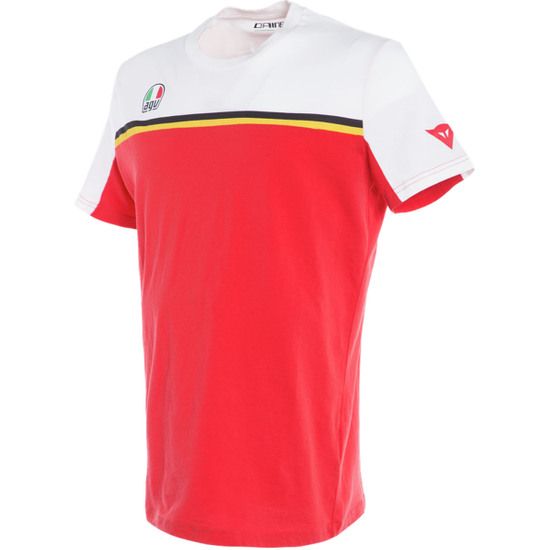Camiseta AGV Fast-7 Aniversario Black / Red