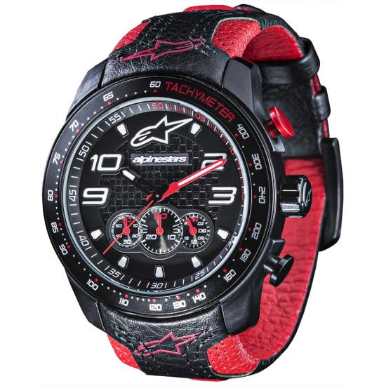 Complemento ALPINESTARS Tech Chrono Leather Black / Red