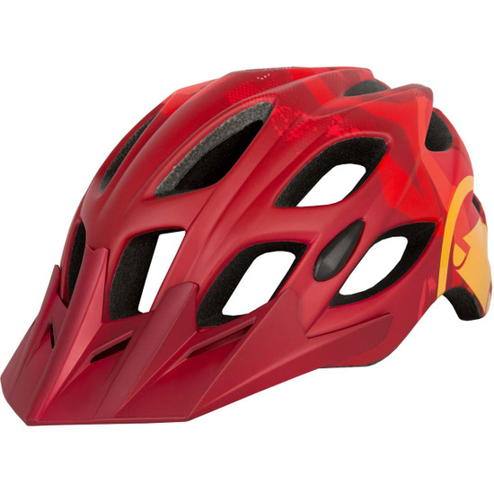 Casco ENDURA Hummvee Red