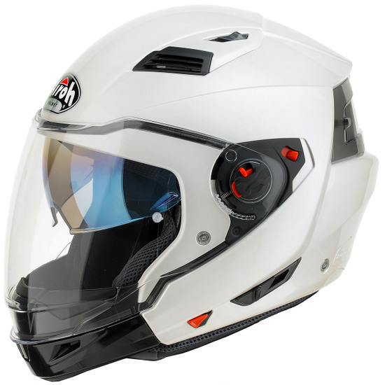 AIROH Executive  Color White Gloss Helmet