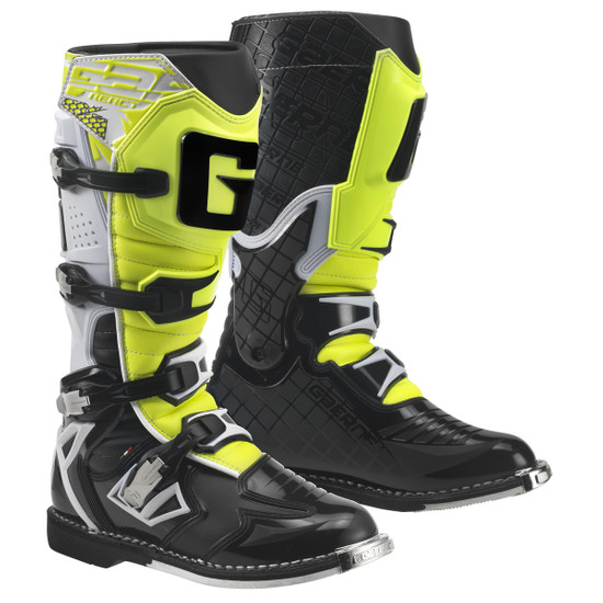Botas GAERNE G-React Goodyear White / Black / Yellow