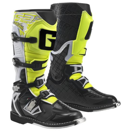 Stivale GAERNE G-React Goodyear White / Black / Yellow