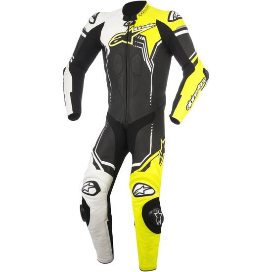 A Pro Motorcycle Motorbike Waterproof Full Body One 1/Pc Rain Over Suit Fluo L