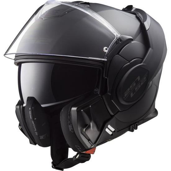 Casco LS2 FF399 Valiant Noir Matt Black