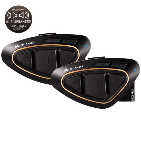 Elektronisch MIDLAND BTX1 PRO Hi-Fi Twin