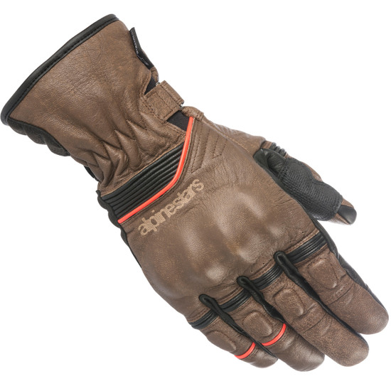 Guantes ALPINESTARS Cafe Divine Drystar Brown / Black