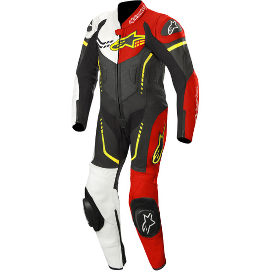 Traje / Mono ALPINESTARS GP Plus Professional Junior Black / White / Red Fluo / Yellow Fluo