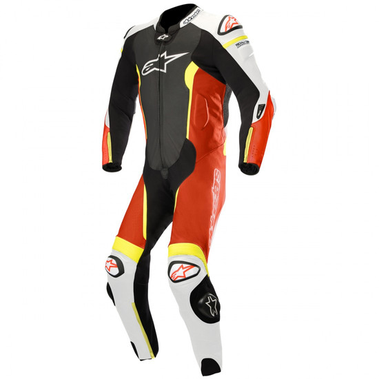 Combinaison ALPINESTARS Missile Professional for Tech-Air Black / White / Red Fluo / Yellow Fluo