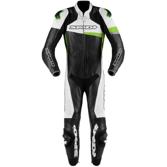 Tuta SPIDI Race Warrior Perforated Pro Professional Black / Green Kaw