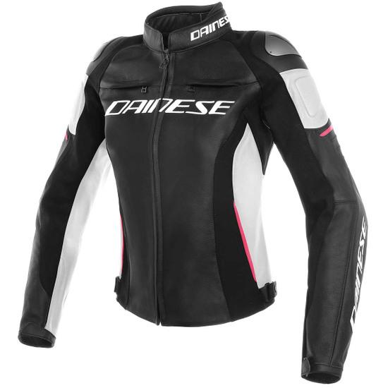 DAINESE Racing 3 Lady Black /White / Fuchsia Jacket