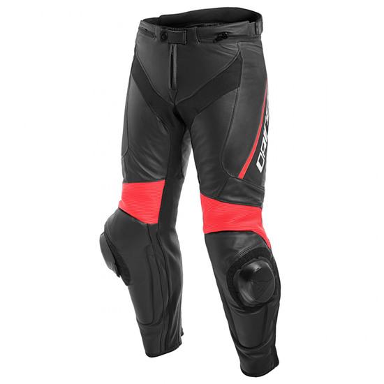 Pantalon DAINESE Delta 3 Black / Fluo-Red
