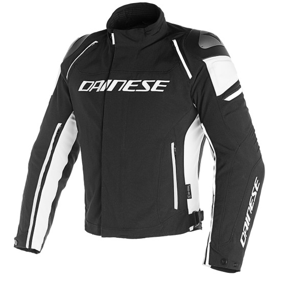 Chaqueta DAINESE Racing 3 D-Dry Black / White